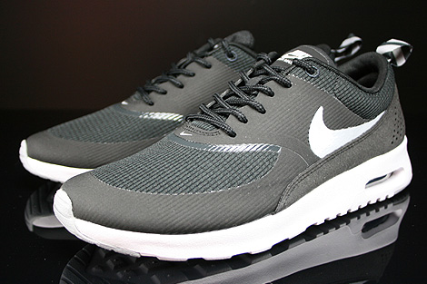 Nike WMNS Air Max Thea Black Wolf Grey Anthracite White Sidedetails
