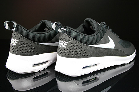Nike WMNS Air Max Thea Black Wolf Grey Anthracite White Back view