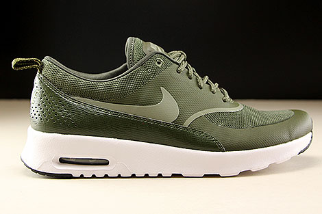 Nike WMNS Air Max Thea Cargo Khaki Dark Stucco Black Right
