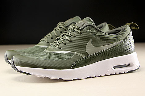 Nike WMNS Air Max Thea Cargo Khaki Dark Stucco Black Profile