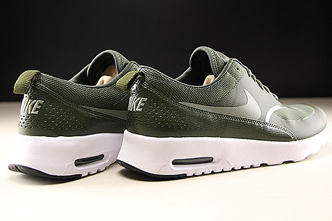 Nike WMNS Air Max Thea Cargo Khaki Dark Stucco Black Back view