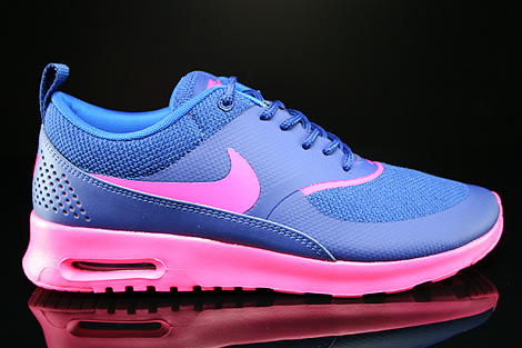 Nike WMNS Air Max Thea Deep Royal Blue Hyper Pink Hyper