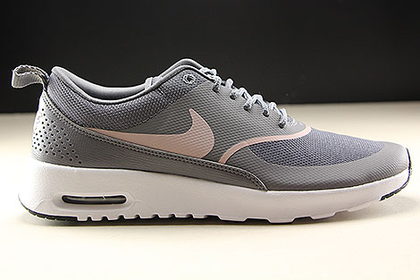 finest selection 29ad5 4942c ... Nike WMNS Air Max Thea Gunsmoke Particle Rose Black Right ...
