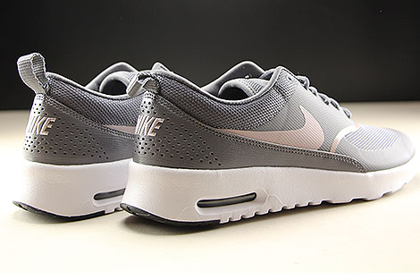 Nike WMNS Air Max Thea Gunsmoke Particle Rose Black Back view