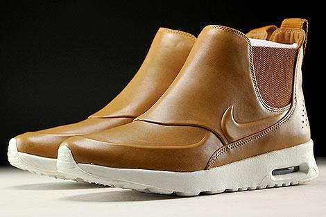 Nike WMNS Air Max Thea Mid Braun Creme Seitendetail
