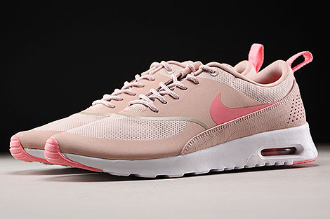 Nike WMNS Air Max Thea Pink Oxford Bright Melon White Profile