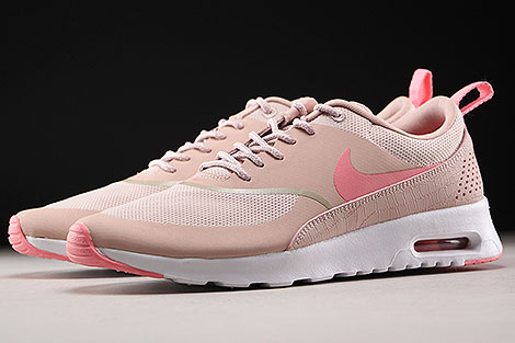Nike WMNS Air Max Thea Pink Oxford Bright Melon White Sidedetails