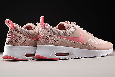 Nike WMNS Air Max Thea Pink Oxford Bright Melon White Back view