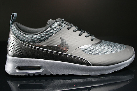 Nike Grey Air Max Thea Trainers Nike Wmns Air Max Thea Premium
