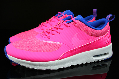 nike wmns air max thea premium hyper pink pink glow hyper. Black Bedroom Furniture Sets. Home Design Ideas