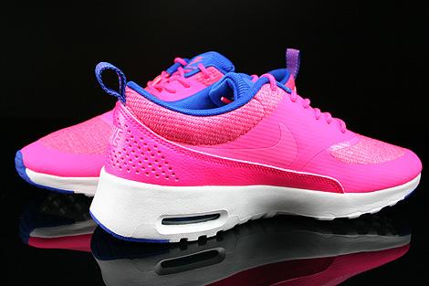 Nike WMNS Air Max Thea Premium Pink Blau Beige Innenseite