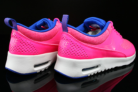 Nike WMNS Air Max Thea Premium Hyper Pink Pink Glow Hyper Cobalt Summit Back view