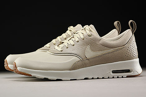 buy popular 1c10f ccc8e ... Right  Nike WMNS Air Max Thea Premium Oatmeal Sail Khaki Profile ...