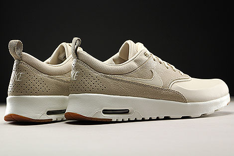 nike wmns air max thea premium oatmeal sail khaki 616723. Black Bedroom Furniture Sets. Home Design Ideas