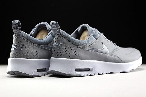 Nike WMNS Air Max Thea Premium Stealth Pure Platinum White Back view