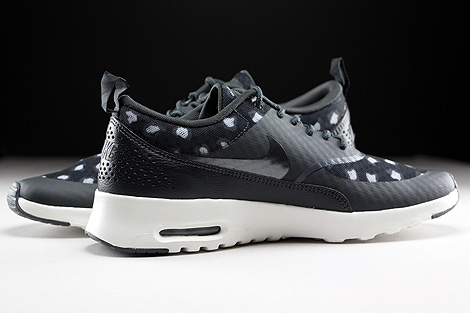 Nike WMNS Air Max Thea Print Black Dark Grey Anthracite Wolf Grey Inside