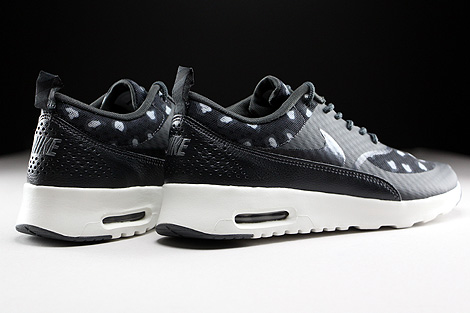 Nike WMNS Air Max Thea Print Black Dark Grey Anthracite Wolf Grey Back view