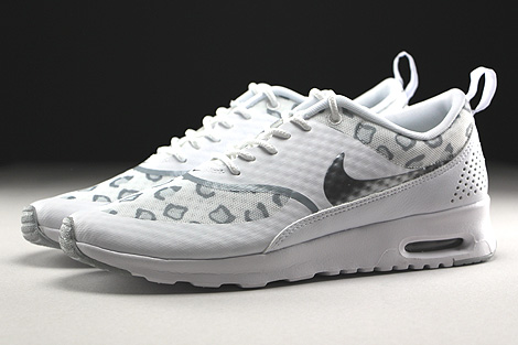 Nike WMNS Air Max Thea Print White Wolf Grey Pure Platinum Profile