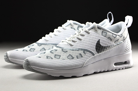 Nike WMNS Air Max Thea Print White Wolf Grey Pure Platinum Sidedetails