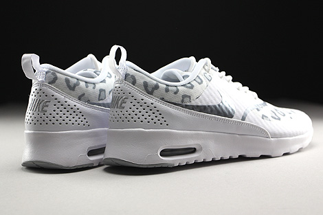 Nike WMNS Air Max Thea Print White Wolf Grey Pure Platinum Back view