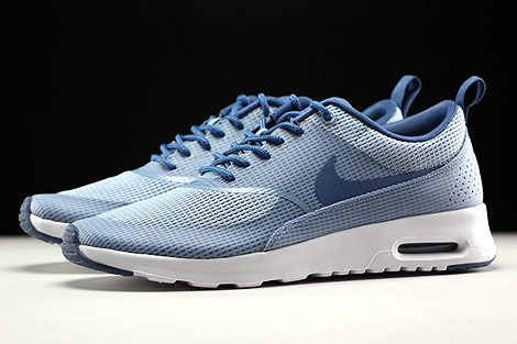 Nike WMNS Air Max Thea Textile Blue Grey Ocean Fog White Profile
