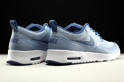 Nike WMNS Air Max Thea Textile Blue Grey Ocean Fog White Back view