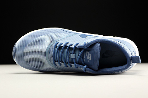 Nike WMNS Air Max Thea Textile Blue Grey Ocean Fog White Over view