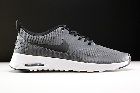 Nike WMNS Air Max Thea Textile Dark Grey Black White Right