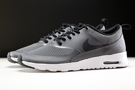 Nike WMNS Air Max Thea Textile Dark Grey Black White Profile