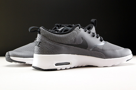 Nike WMNS Air Max Thea Textile Dark Grey Black White Inside