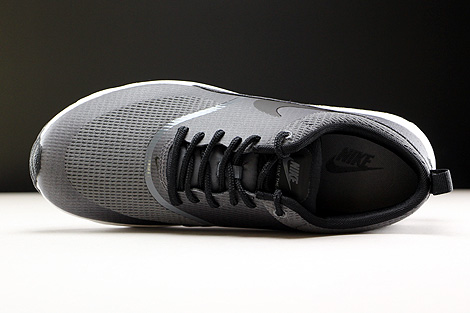 Nike WMNS Air Max Thea Textile Dark Grey Black White Over view
