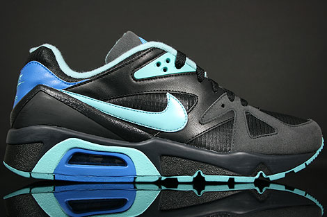 Nike WMNS Air Structure Triax 91 Black Paradise Aqua Blue Anthracite
