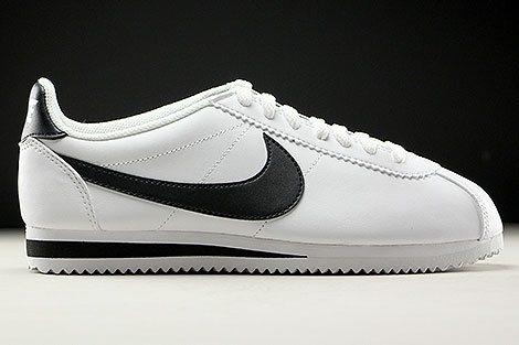 Nike WMNS Classic Cortez Leather White Black Right