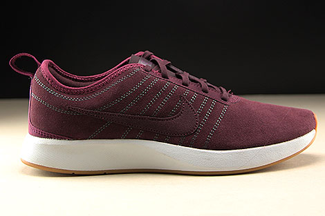 Nike WMNS Dualtone Racer SE Deep Burgundy Bordeaux White Right