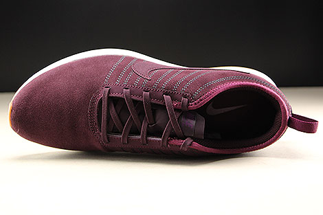 Nike WMNS Dualtone Racer SE Deep Burgundy Bordeaux White Over view