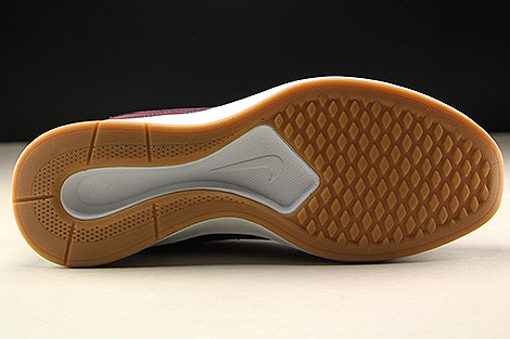 Nike WMNS Dualtone Racer SE Dunkelrot Weiss Laufsohle