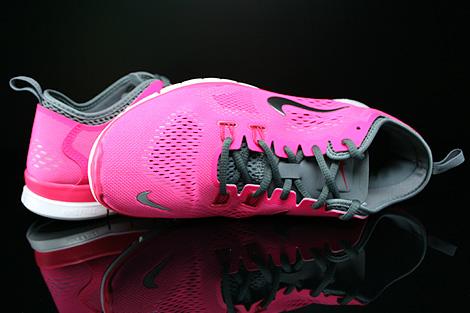 Nike WMNS Free 5.0 TR Fit 4 Pink Dunkelgrau Hellgrau Weiss Oberschuh