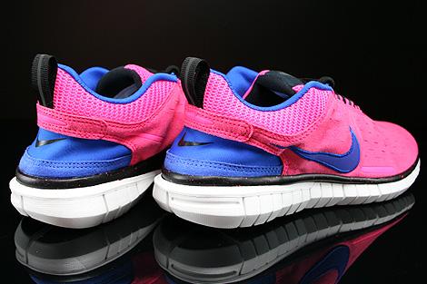 Nike WMNS Free OG 14 Pink Blau Lila Schwarz Weiss Rueckansicht