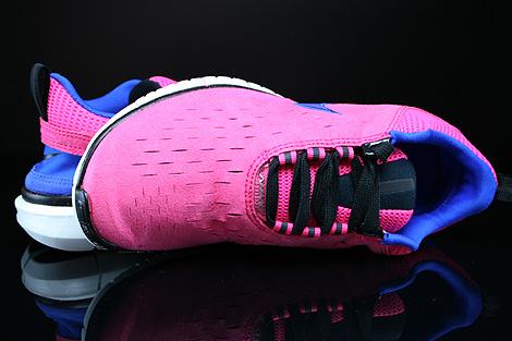 Nike WMNS Free OG 14 Pink Blau Lila Schwarz Weiss Oberschuh
