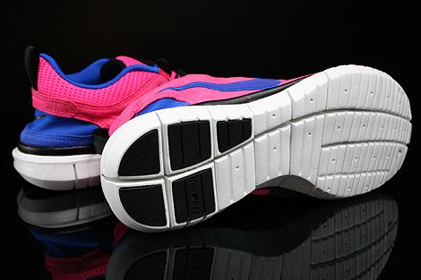 Nike WMNS Free OG 14 Pink Blau Lila Schwarz Weiss Laufsohle