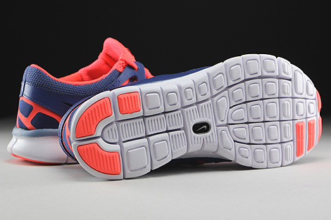 Nike WMNS Free Run 2 EXT Blue Legend Cool Blue Hot Lava White Outsole