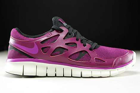 innovative design 0c10f 2aaad ... Nike WMNS Free Run 2 EXT Mulberry Purple Dusk Black Dark Grey Right ...