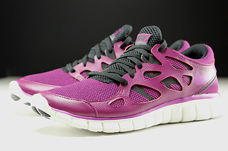 Nike WMNS Free Run 2 EXT Mulberry Purple Dusk Black Dark Grey Sidedetails