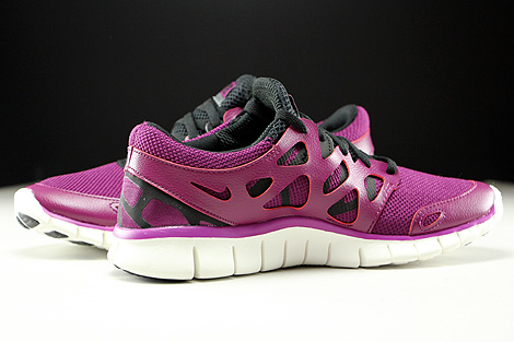 Nike WMNS Free Run 2 EXT Mulberry Purple Dusk Black Dark Grey Inside
