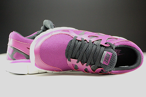 Nike WMNS Free Run 2 EXT Mulberry Purple Dusk Black Dark Grey Over view