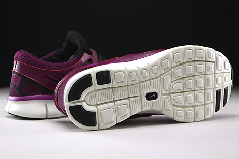 d21f14cd6ece Nike WMNS Free Run 2 EXT Mulberry Purple Dusk Black Dark Grey Outsole ...