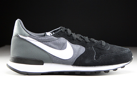 Nike WMNS Internationalist Black White Dark Grey Black