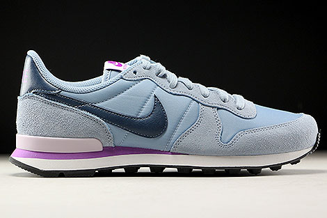 Nike WMNS Internationalist Blue Grey Squadron Blue Right