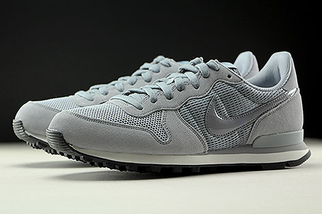 Nike WMNS Internationalist Stealth Dark Grey Summit White Sidedetails
