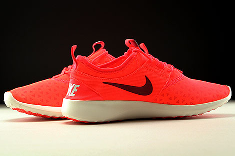 Nike Juvenate Orange Dunkelrot Creme Innenseite
